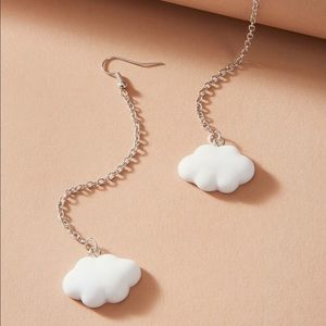 Cloud Chain Earrings ☁️